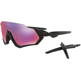 Oakley Flight Jacket Bike Glasses black